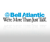 Bell Atlantic Type Treatment Tagline Only